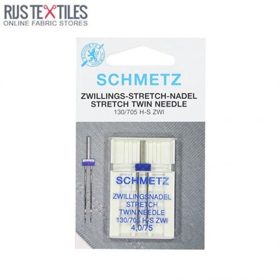 Schmetz Stretch Twin Needle 4,0/75 (130/705 H-S ZWI)