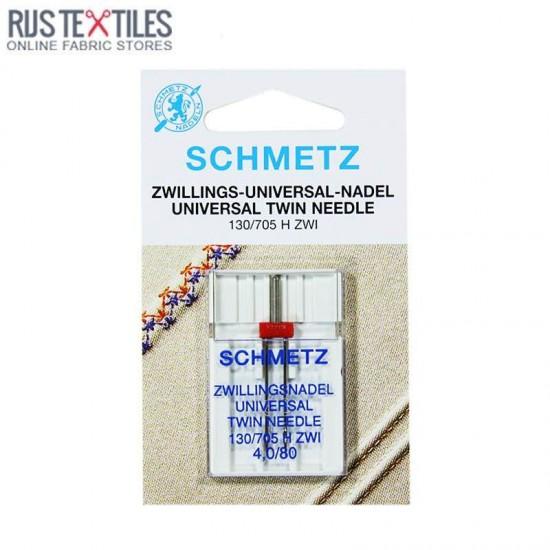 Schmetz Universal Twin Needle 4,0/80 (130/705 H ZWI)