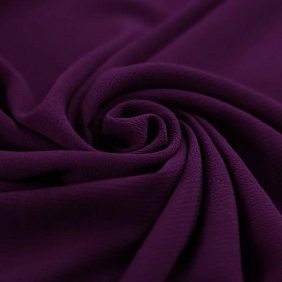 Bubble Chiffon Fabric Stretch Purple