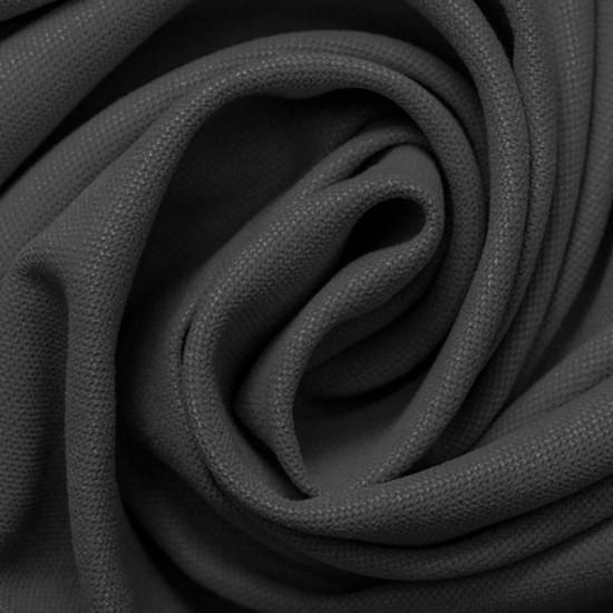 Canvas Fabric Dark Grey