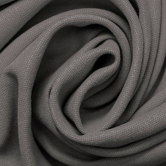 Canvas Fabric Grey