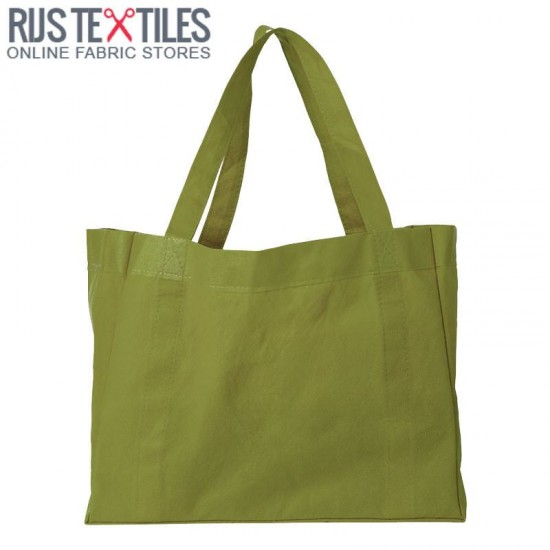 Canvas Fabric Kiwi Green