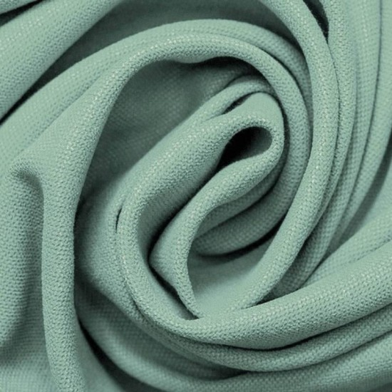 Canvas Fabric Sea Green