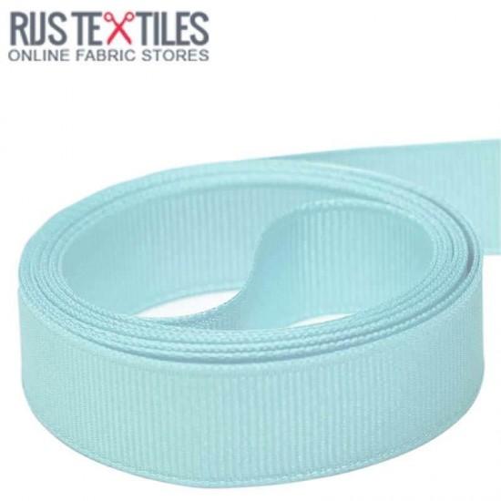 Grosgrain Ribbon Baby Blue 25mm