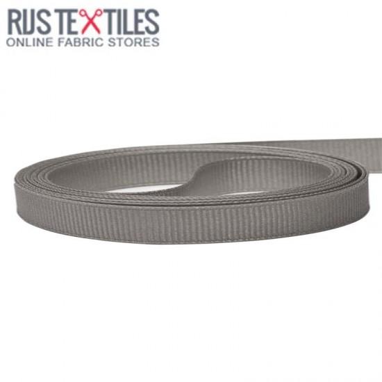 Ripsband Dunkel Grau 10mm