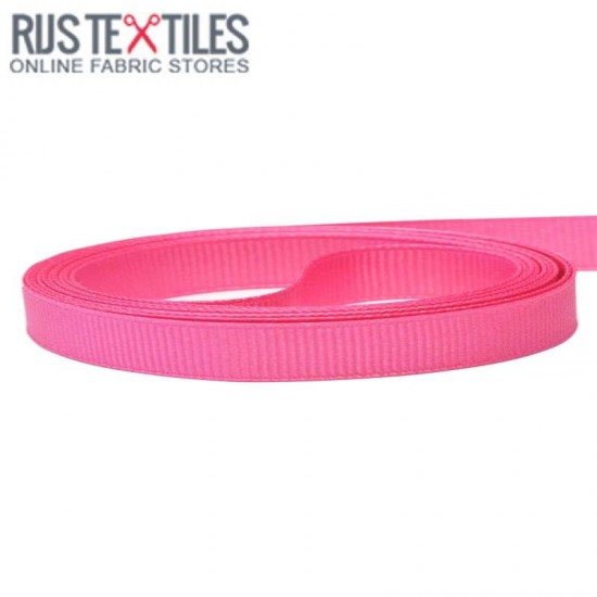 Grosgrain Ribbon Hot Pink 10mm