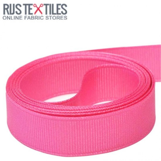 Ripsband Hot Pink 25mm