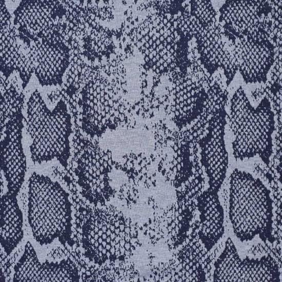 Jacquard Fabric - Snake Pattern Jeans