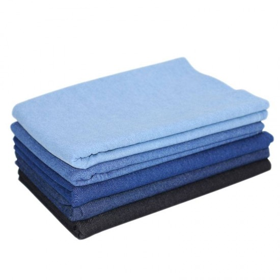 69f3d033ce6 Denim Fabric Stretch 10-OZ 5 Colors 2 Meters Package