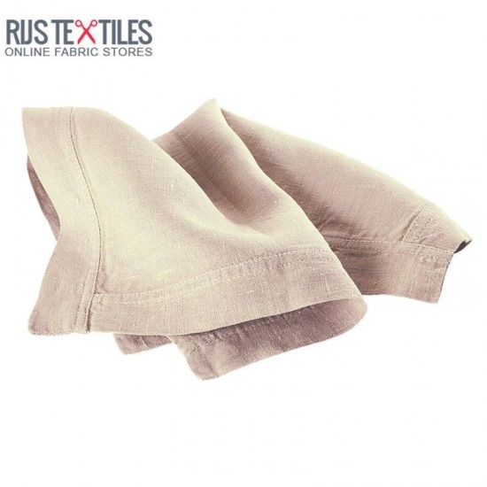 Linen Fabric Beige