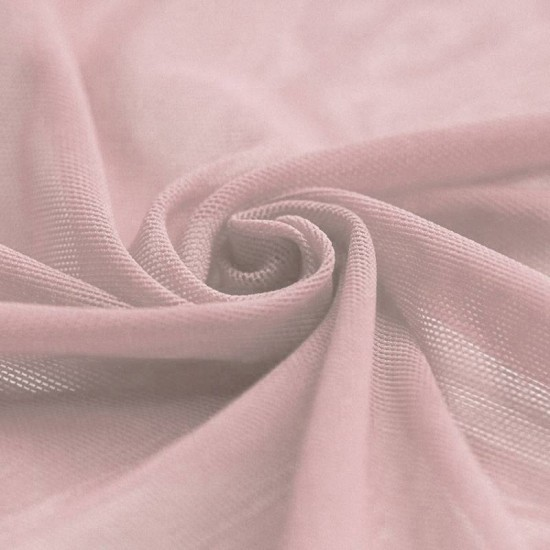 Mesh Fabric Stretch Old Pink