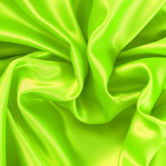 Tessuto Raso Lime Fluor