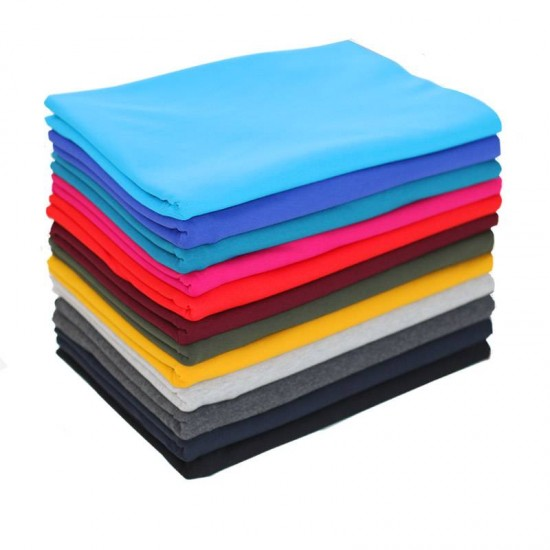 7072c0a5dc2 Cotton Jersey Fabric 12 Colors 2 Meters Package